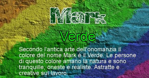 Mark - Colore corrispondente al nome Mark