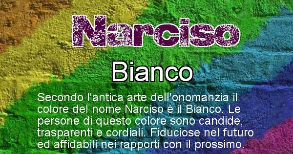 Narciso - Colore corrispondente al nome Narciso