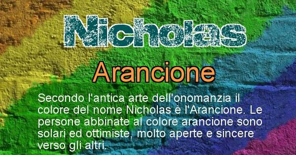 Nicholas - Colore corrispondente al nome Nicholas
