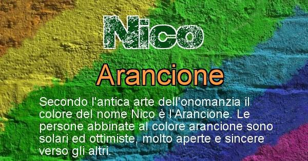 Nico - Colore corrispondente al nome Nico