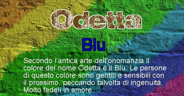 Odetta - Colore corrispondente al nome Odetta