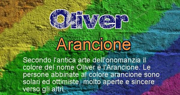 Oliver - Colore corrispondente al nome Oliver