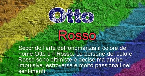 Otto - Colore corrispondente al nome Otto