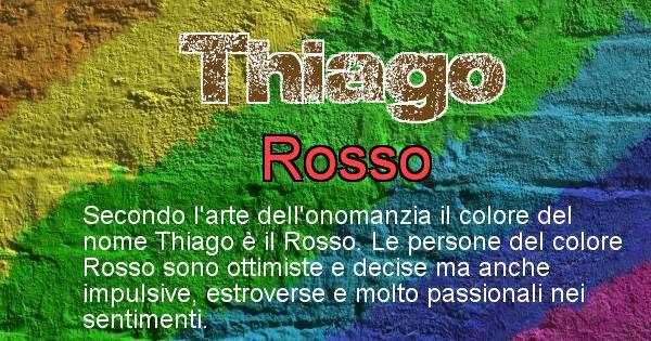 Thiago - Colore corrispondente al nome Thiago
