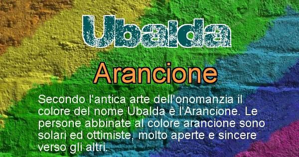 Ubalda - Colore corrispondente al nome Ubalda