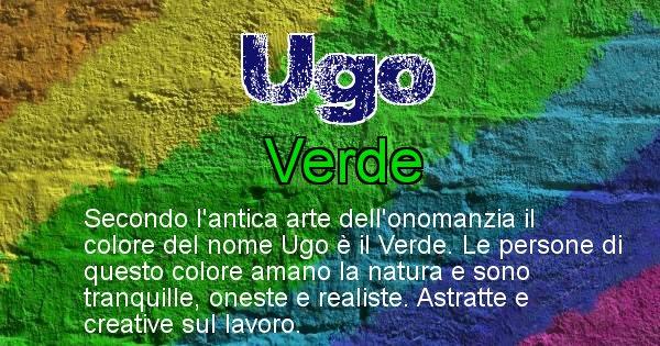 Ugo - Colore corrispondente al nome Ugo