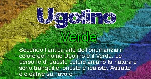 Ugolino - Colore corrispondente al nome Ugolino