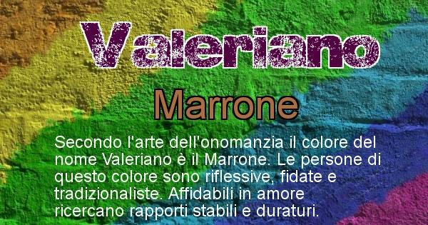 Valeriano - Colore corrispondente al nome Valeriano