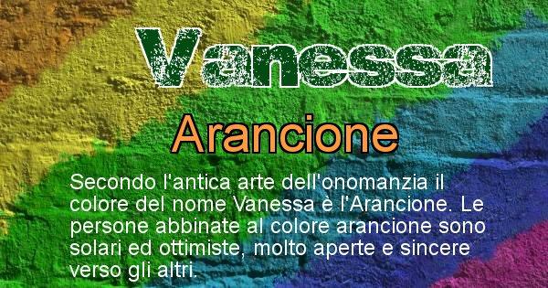 Vanessa - Colore corrispondente al nome Vanessa