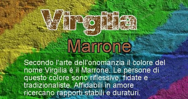 Virgilia - Colore corrispondente al nome Virgilia