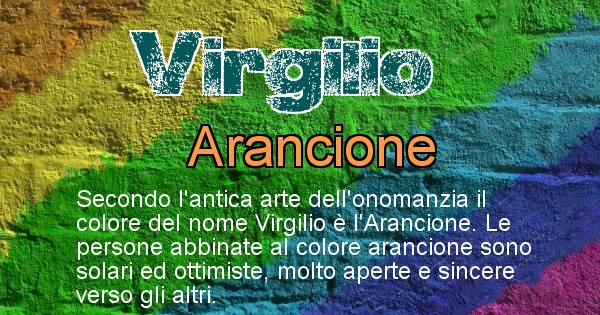 Virgilio - Colore corrispondente al nome Virgilio