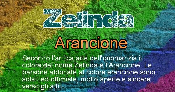Zelinda - Colore corrispondente al nome Zelinda