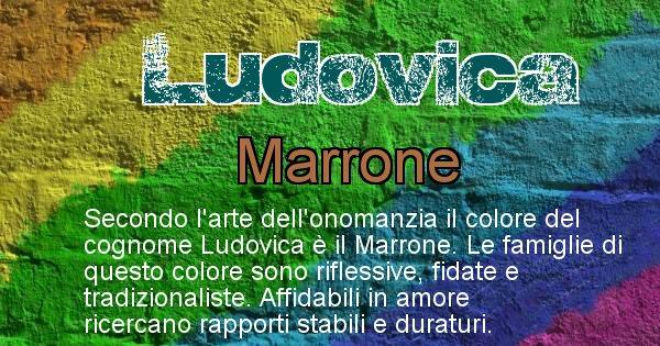 Ludovica - Scopri il colore associato al Cognome Ludovica