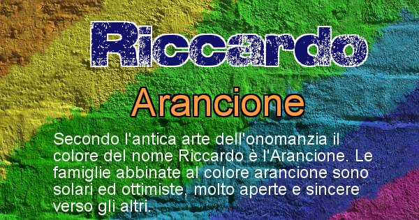Riccardo - Scopri il colore associato al Cognome Riccardo