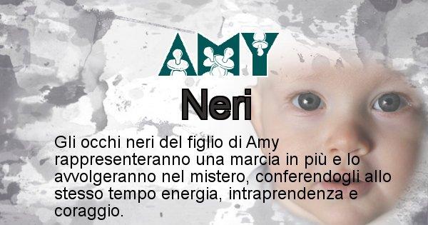 Amy - Colore degli occhi per il figlio di Amy