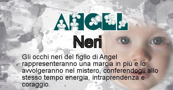 Angel - Colore degli occhi per il figlio di Angel