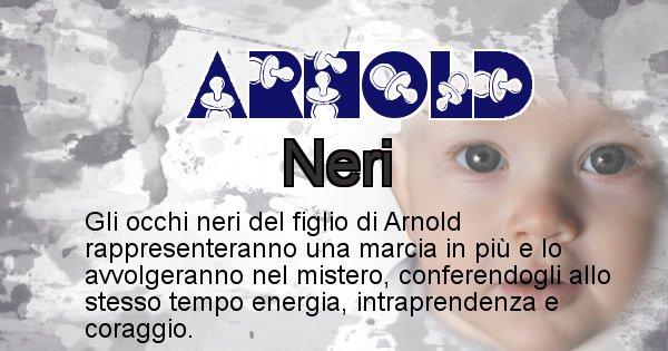 Arnold - Colore degli occhi per il figlio di Arnold