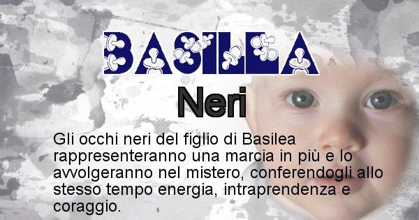 Basilea - Colore degli occhi per il figlio di Basilea