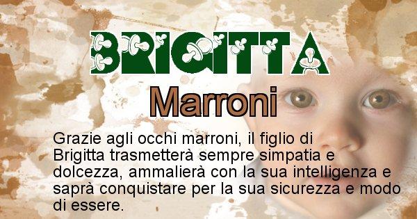 Brigitta - Colore degli occhi per il figlio di Brigitta
