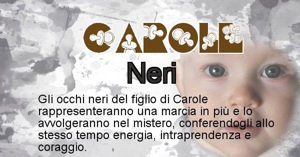 Carole - Colore degli occhi per il figlio di Carole