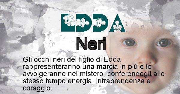 Edda - Colore degli occhi per il figlio di Edda