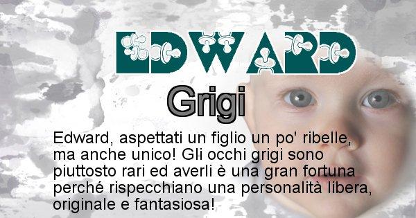 Edward - Colore degli occhi per il figlio di Edward
