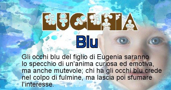 Eugenia - Colore degli occhi per il figlio di Eugenia