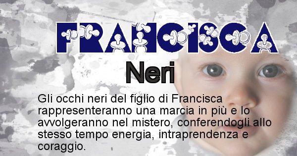 Francisca - Colore degli occhi per il figlio di Francisca