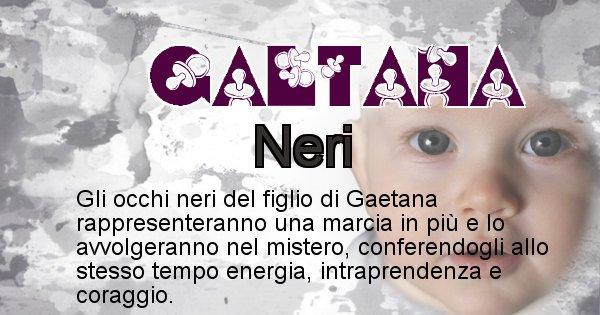 Gaetana - Colore degli occhi per il figlio di Gaetana