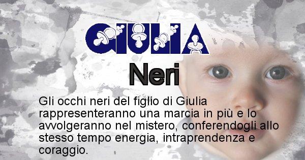 Giulia - Colore degli occhi per il figlio di Giulia