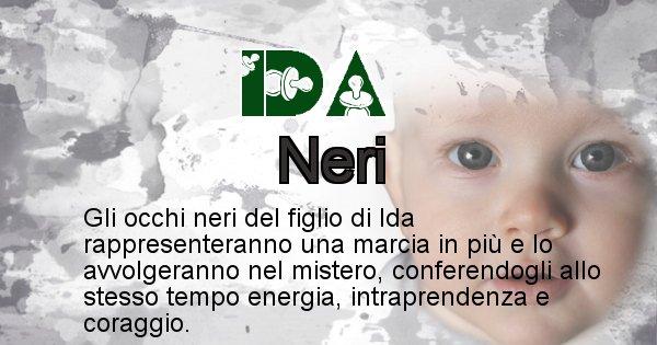 Ida - Colore degli occhi per il figlio di Ida