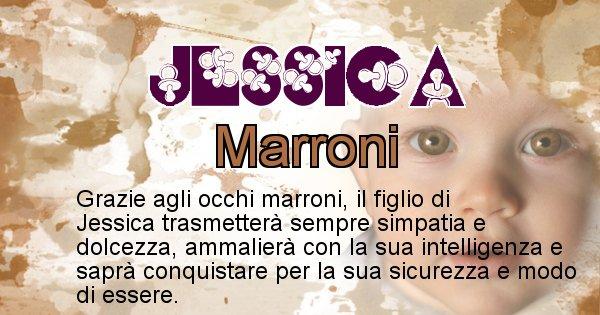 Jessica - Colore degli occhi per il figlio di Jessica