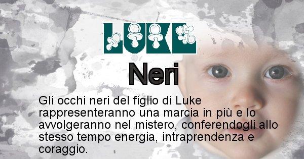 Luke - Colore degli occhi per il figlio di Luke