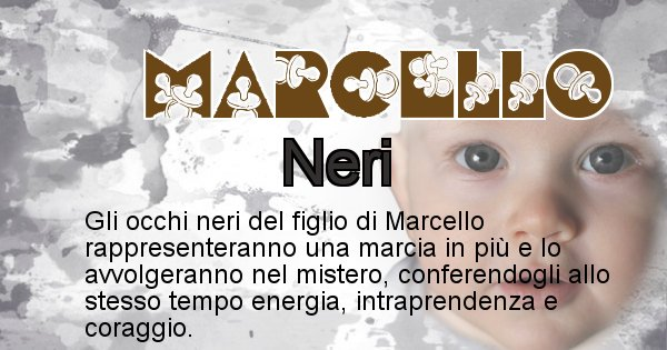 Marcello - Colore degli occhi per il figlio di Marcello
