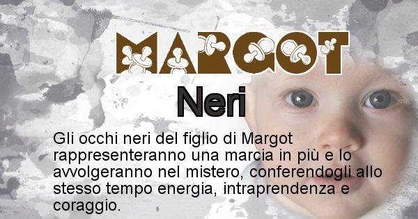 Margot - Colore degli occhi per il figlio di Margot