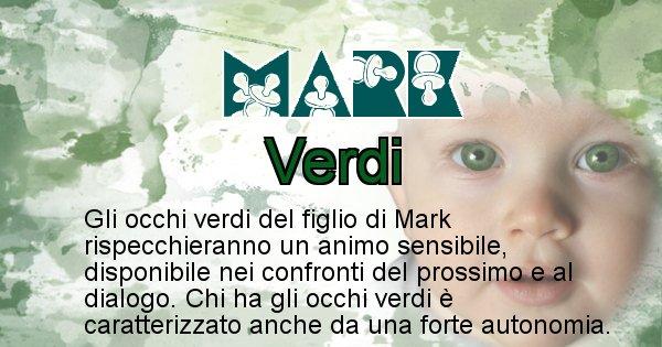 Mark - Colore degli occhi per il figlio di Mark