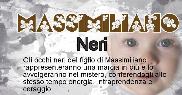 Massimiliano - Colore degli occhi per il figlio di Massimiliano