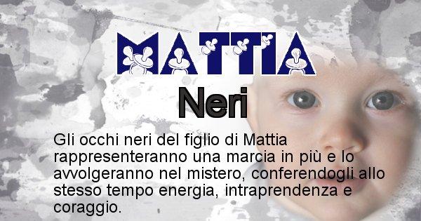 Mattia - Colore degli occhi per il figlio di Mattia