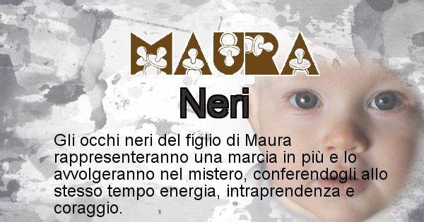 Maura - Colore degli occhi per il figlio di Maura