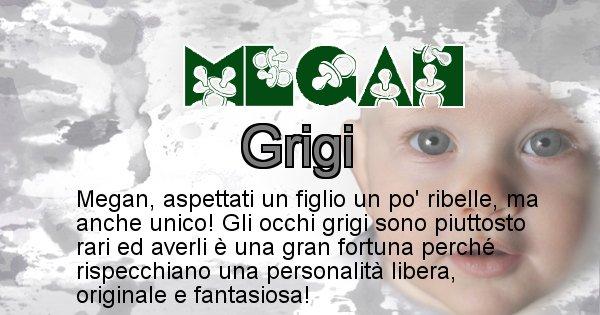 Megan - Colore degli occhi per il figlio di Megan