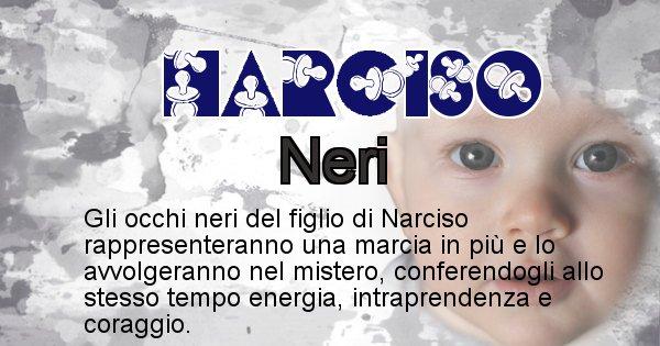 Narciso - Colore degli occhi per il figlio di Narciso