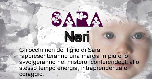 Sara - Colore degli occhi per il figlio di Sara