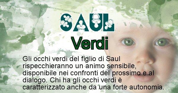 Saul - Colore degli occhi per il figlio di Saul
