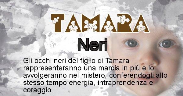 Tamara - Colore degli occhi per il figlio di Tamara