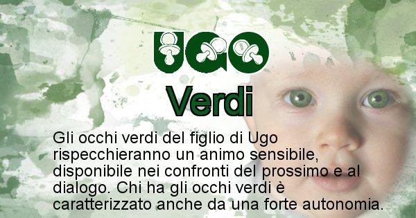 Ugo - Colore degli occhi per il figlio di Ugo