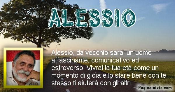 Alessio - Come sarai da vecchio Alessio