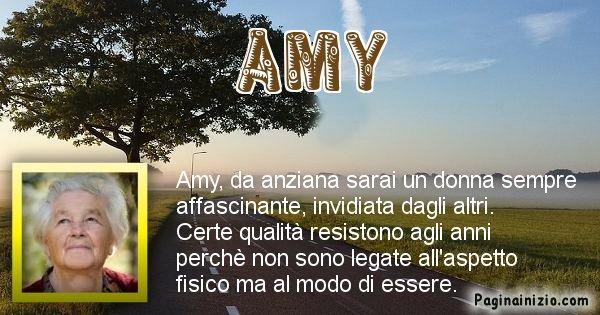 Amy - Come sarai da vecchio Amy