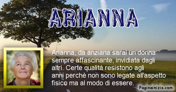 Arianna - Come sarai da vecchio Arianna
