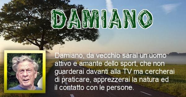 Damiano - Come sarai da vecchio Damiano