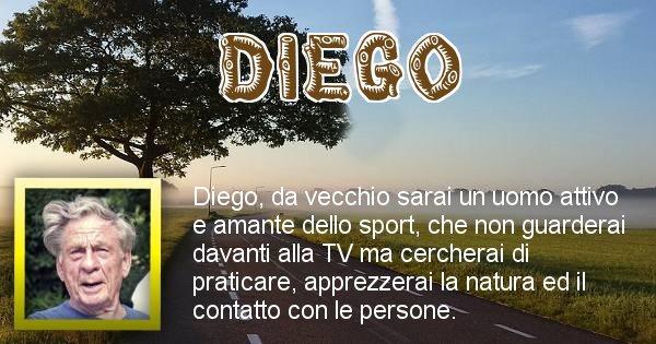 Diego - Come sarai da vecchio Diego